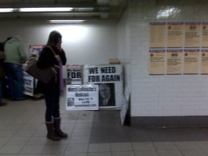 NY subway 2009